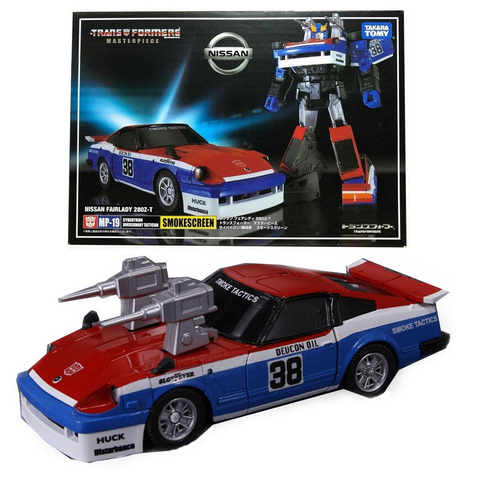 Transformers Masterpiece MP-19 MP19 SMOKESCREEN Autobots Action Figure Gift Kids