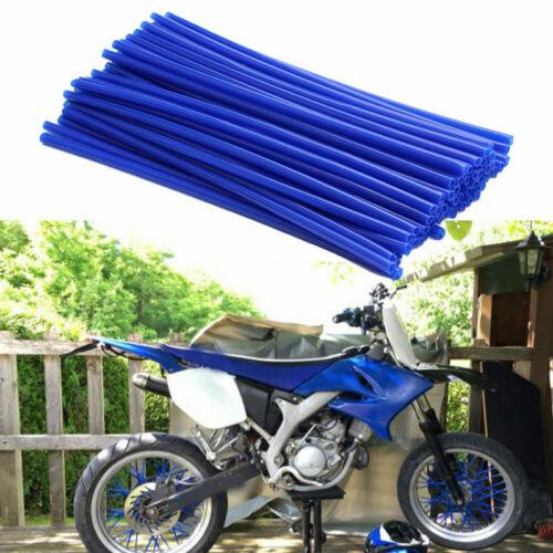 36 Stk Universal Motocross Rad Felge Speichen Wrap Skin Cover Kunststoff #7