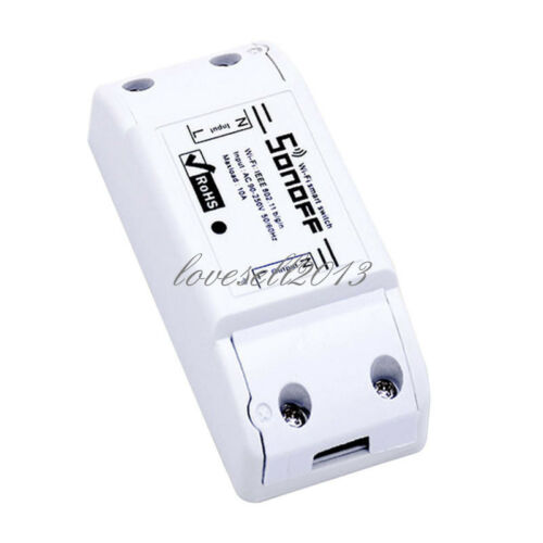 1PCS ITEAD Sonoff Smart Home WiFi Wireless Switch Module for Apple Android APP S