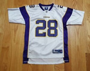 Details about Adrian Peterson Minnesota Vikings #28 Jersey Boys Youth Large L Reebok NFL Team