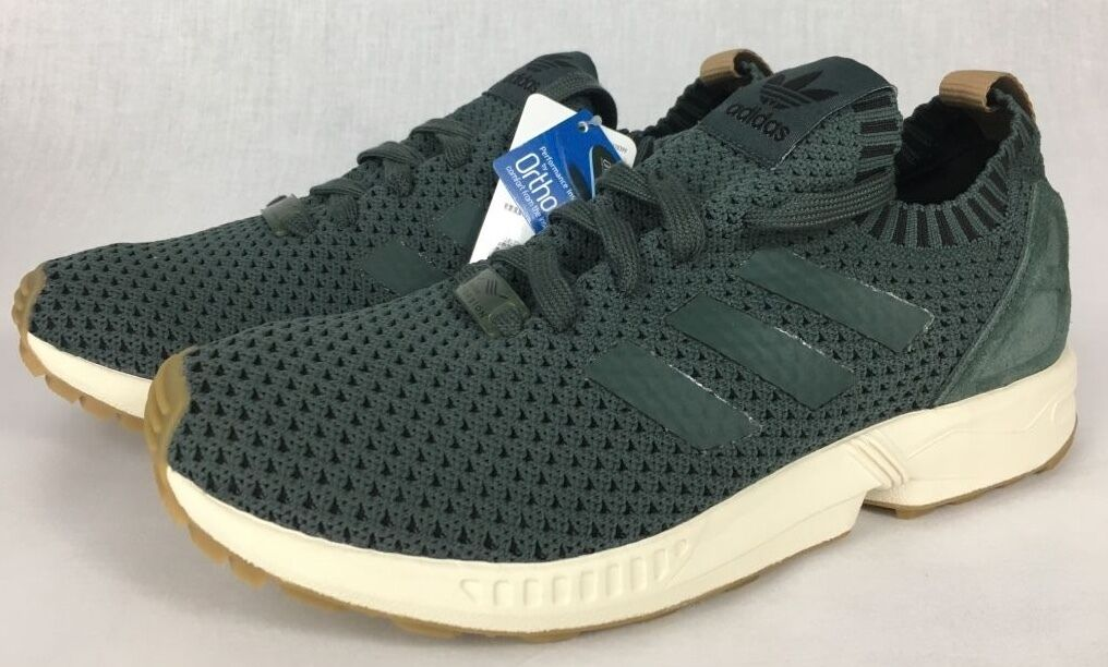 BRAND NEW MENS ADIDAS ZX FLUX PK SIZE 8.5-75 BA7373 FREE SHIPPING