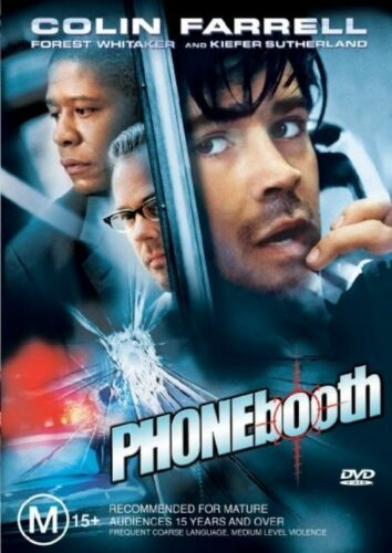 1 of 1 - Phone Booth (2003) Colin Farrell - NEW DVD - Region 4