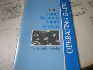 1991 Ford Probe Radio Wiring : 1991 ford mustang thunderbird probe bronco f150 radio ~ A.2002-acura-tl-radio.info Haus und Dekorationen
