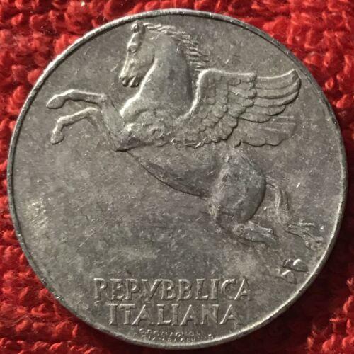 Italy KM 90-10 Lire 1948 3//292 VF