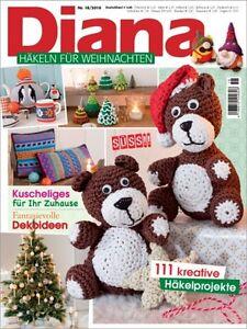 Diana 182016 Häkeln Für Weihnachten Baumschmuck Wohnliches
