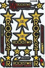 New Rockstar Energy Motocross ATV Enduro Racing Graphic stickers/decals. (st196)