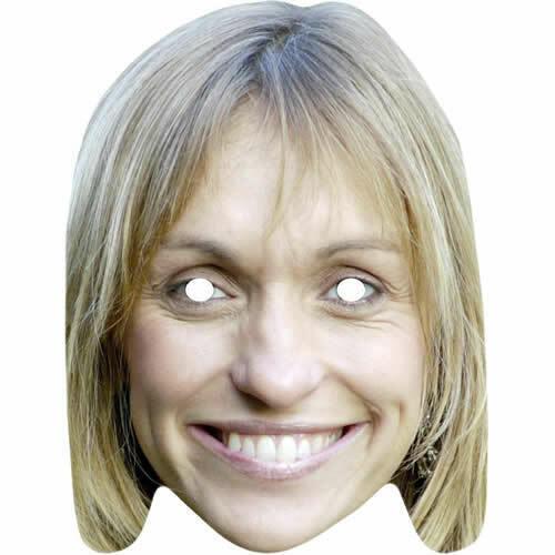 All Our Masks Pre-cut Michaela Strachan Springwatch Celebrity Fun Card Mask
