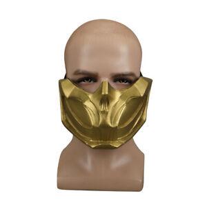 Cosplay Mortal Kombat 11 Scorpion Mask Hanzo Hasashi Mask Pvc