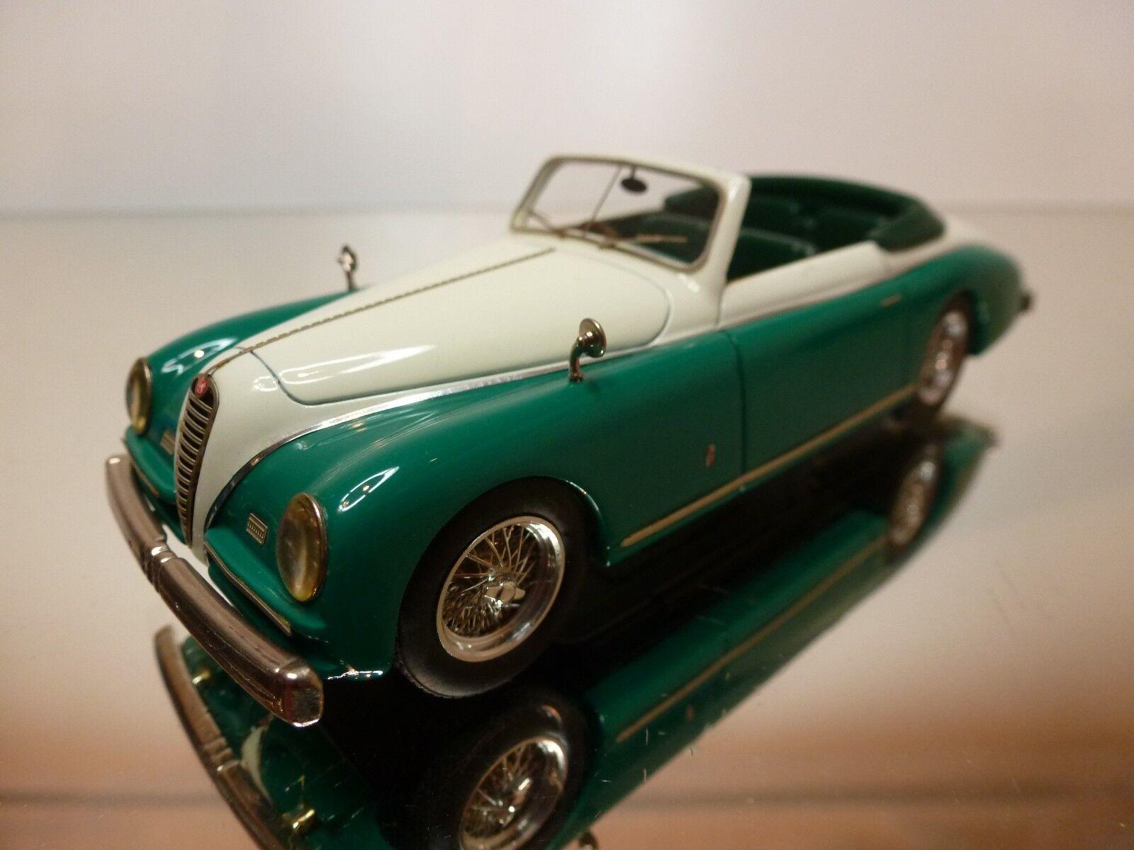 BBR  27 ALFA ROMEO 6C 2500 SS 1948 - verde + bianca 1 43 - EXCELLENT 13