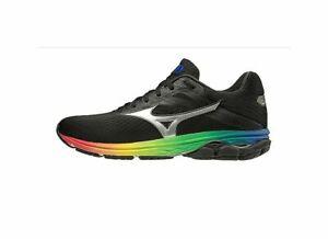 Mizuno-Wave-Rider-23-Osaka-Women-039-s-Running-Shoes-Black-Black-J1GD190373-19G