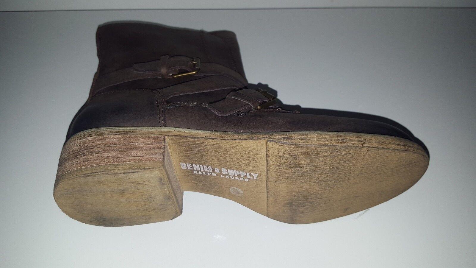 I. wendel de botas de encaje de wendel cuero tejer GR 39 negro 8e3333