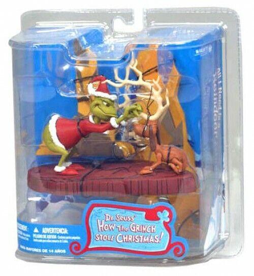 Dr. Seuss Comment le Grinch a volé Noël  All I Need Est un renne Action Figure