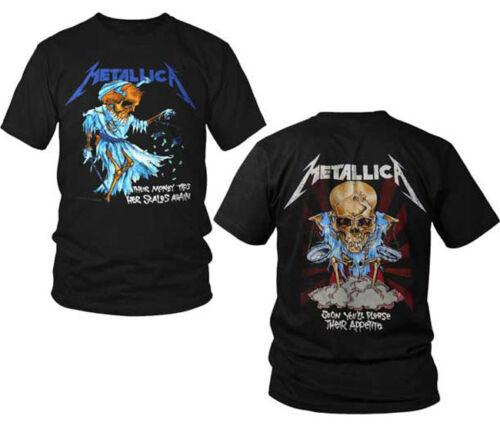SML-3XL New Metallica Doris Justice For All Heavy Metal Shirt badhabitmerch