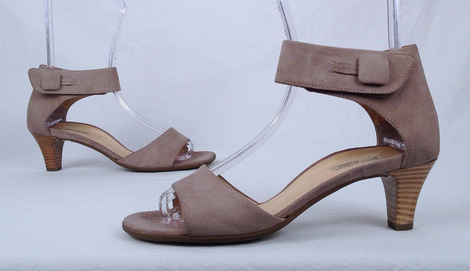 Paul Green- 'Aurora' Sandal -Sand Suede-Size US 7   AU 4.5  (P8)
