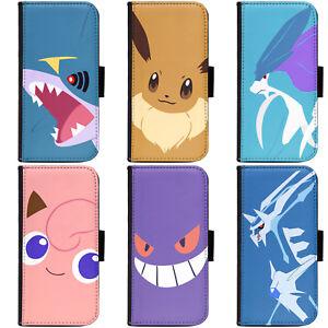 PIN-1-Game-Pokemon-9-Phone-Wallet-Flip-Case-Cover-for-HTC-Nokia-Oppo-Xiaomi