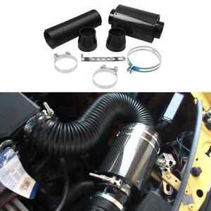 Universal-Racing-Air-Box-Carbon-Fiber-Cold-Feed-Induction-Kit-Air