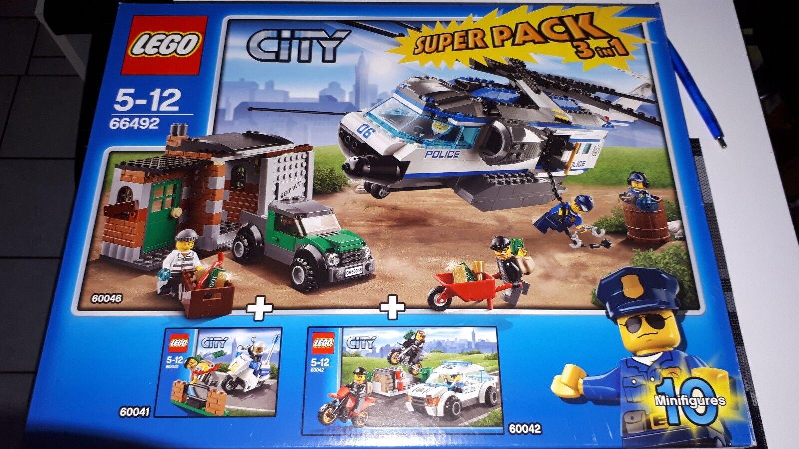 Lego® 66492 Polizei Value Super Pack 3 in 1 NEU OVP