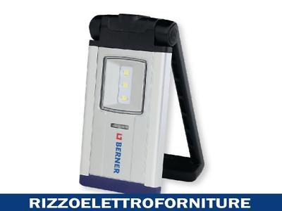 Berner pocket delux bright SMD LED Torcia Officina Lavoro Lampada batteria