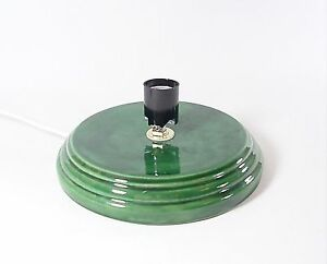 Ceramic christmas tree base low profile universal 6 5 quot flat top made