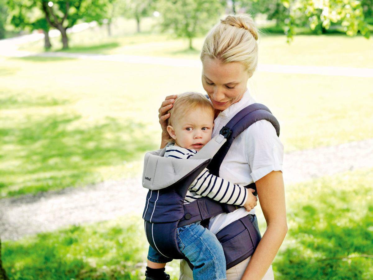 BABYBJORN Bjorn Porte-bébé confort organique