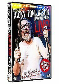 Ricky-Tomlinson-039-s-Laughter-Show-Live-DVD-2008