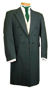 MENS-MANS-FROCK-COAT-GREEN-WEDDING-FANCY-DRESS-PROM-STUNNING-QUALITY-EDWARDIAN