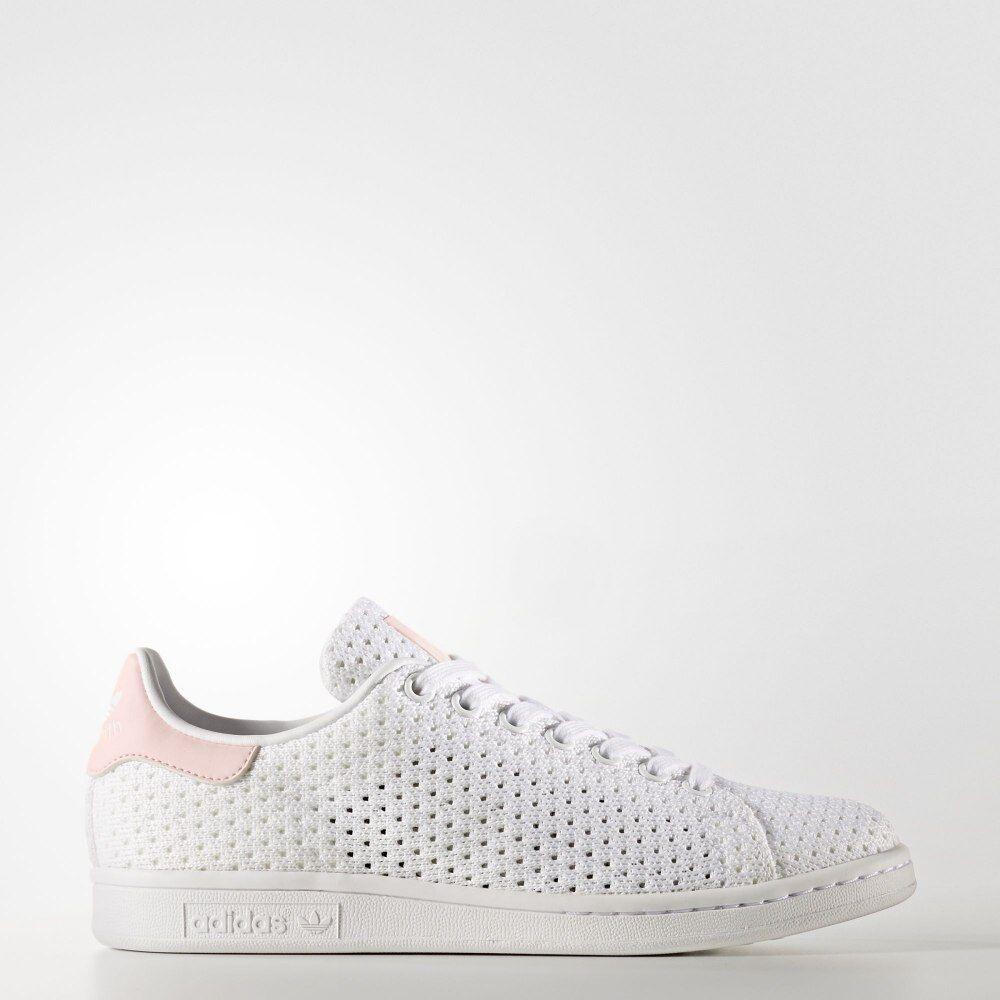 Adidas Originals Stan Damenschuhe Stan Originals Smith W Trainers S82256 Weiß Textile upper UK 7 f0010a