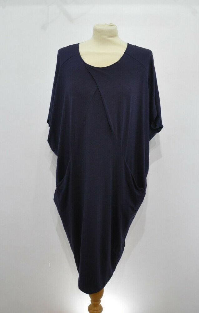 ** Crea Concept ** Bleu Marine Lagenlook Robe ** 38 ** Lagenlook ** Neuf/bnwt **