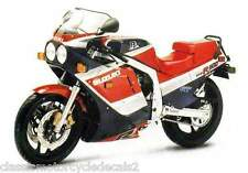 SUZUKI GSXR-1100G PAINTWORK RESTORATION DECAL SET 1986 RED/BLACK MODEL