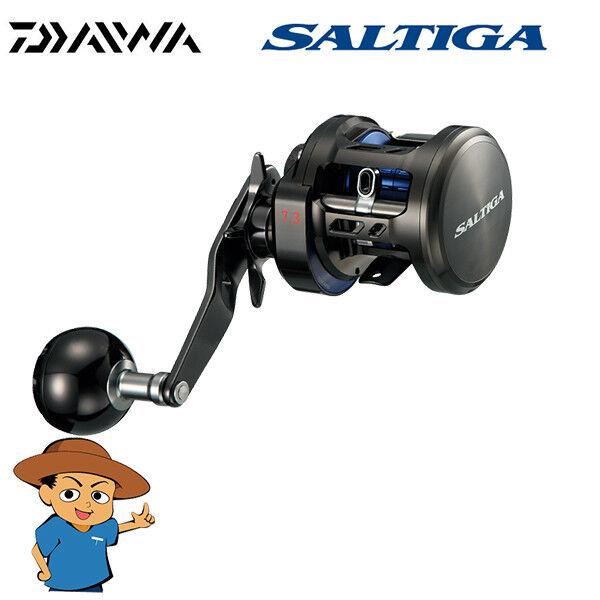 Daiwa Saltiga Bj 200SH Jigging Cebo De Pesca Cocherete Derecho Manija 2017 Modelo