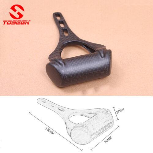 TOSEEK Speedometer Extender MTB//Road Bike Full Carbon Fiber 130*70*27mm Black