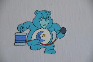 1988-BEDTIME-BEAR-Nelvana-Care-Bear-Production-Animation-Cel-amp-Pencil-Sketch