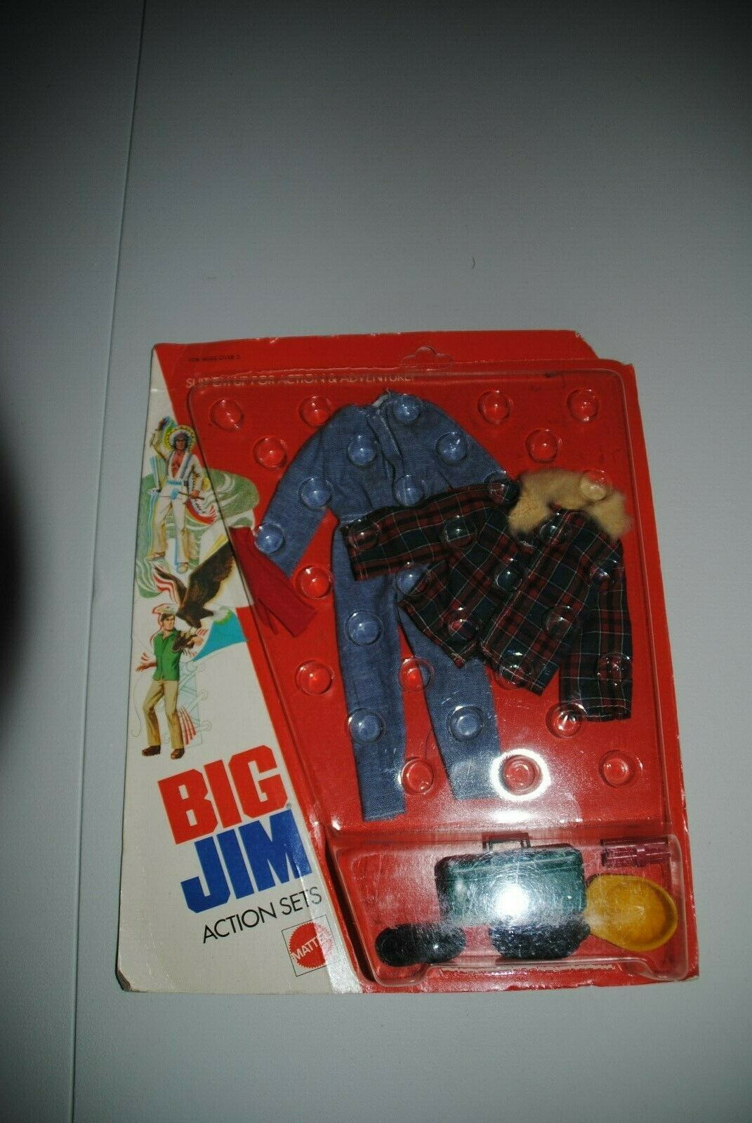 BIG JIM ADVENTURE SETS      DEMOLITION     CARDED