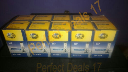 Lot Of 10 Hella H7 24V 70W Bulb-PX26D Replacement Volvo Headlight,Trucks,Buses