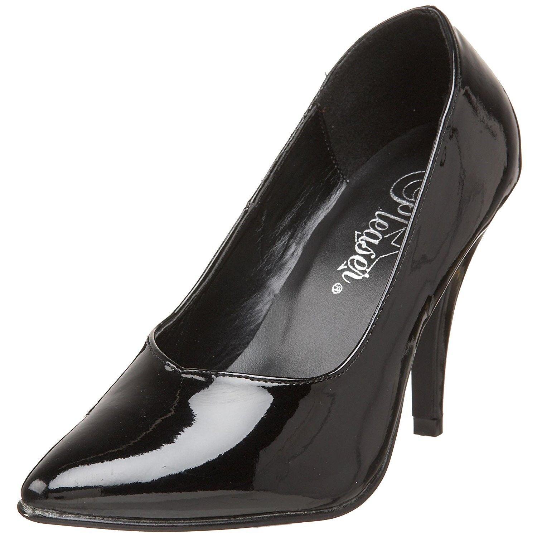 ordinare on-line PLEASER Dream - - - 420 Donna NERO Tacco a Spillo Piattaforma Slide Lap Dance scarpe  100% nuovo di zecca con qualità originale