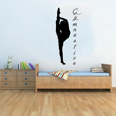 Gymnastics 4.5 Foot Xtra Large Tall Studio Wall Art Mural Decal Sticker Transfer