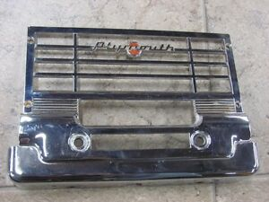 NOS 49 50 Plymouth Radio Grille 1247804 1949 1950