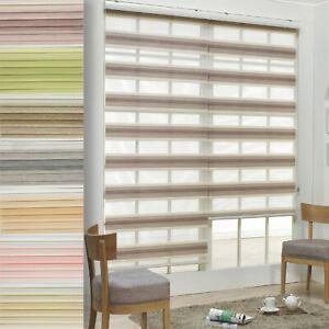 KOREA-Roller-Shade-Home-Window-Blinds-Customized-Sheer-Combi-Zebra-Sheer-Blinds
