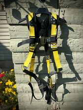 Guardian Padded Fall Protection Construction 11160 Qc Harness M L Blackyellow