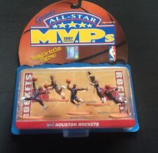 NIB 1997 ALL STAR MVP'S EDITION HOUSTON ROCKETS NBA POSEABLE ACTION FIGURES-