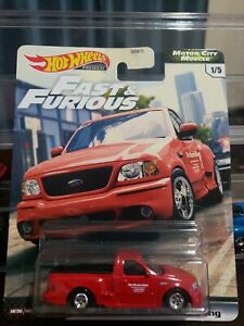 Hot Wheels Ford F-150 SVT LIGHTNING FAST /& Furious Motor City Muscle RARE