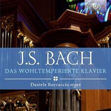 DANIELE BOCCACCIO - DAS WOHLTEMPERIERTE KLAVIER  4 CD NEU BACH,JOHANN SEBASTIAN