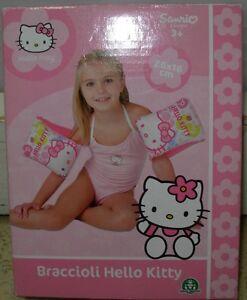 Braccioli Hello Kitty.Dettagli Su Braccioli Hello Kitty 26 X 16