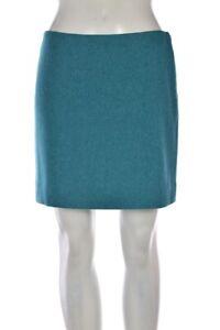 J-Crew-Skirt-Size-2-Blue-Herringbone-Straight-Wool-Above-Knee-Casual