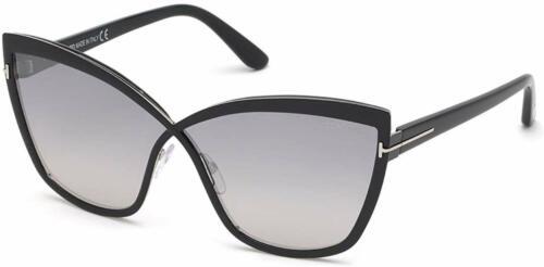 Tom Ford FT0715-01C Women/'s 68 Smoke Mirror Lens Sunglasses