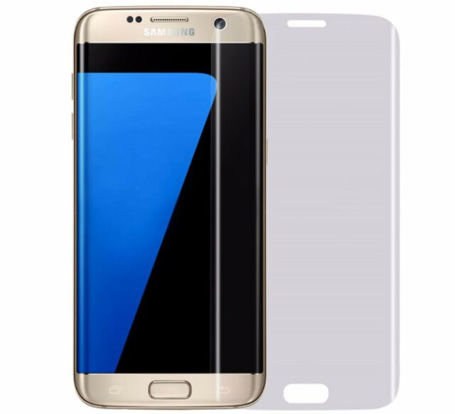 2 x Pellicola display TPU silicone 0.1 mm full curvo per Samsung Galaxy S7 Edge