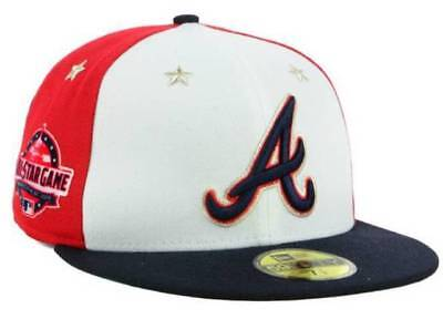 on feet shots of finest selection performance sportswear Official MLB 2018 All Star Game Atlanta Braves New Era 59FIFTY ...