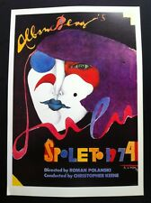 "Richard Lindner Spoleto 1974 R. Polanski Poster Authorised Reproduction 16""X11"""