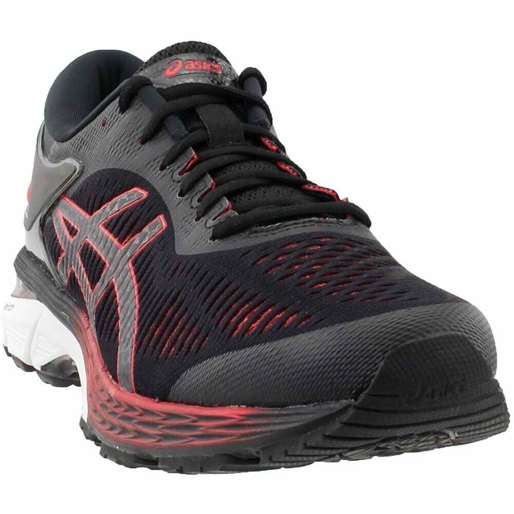 ASICS GEL-Kayano 25 Running shoes - Black;Red - Mens