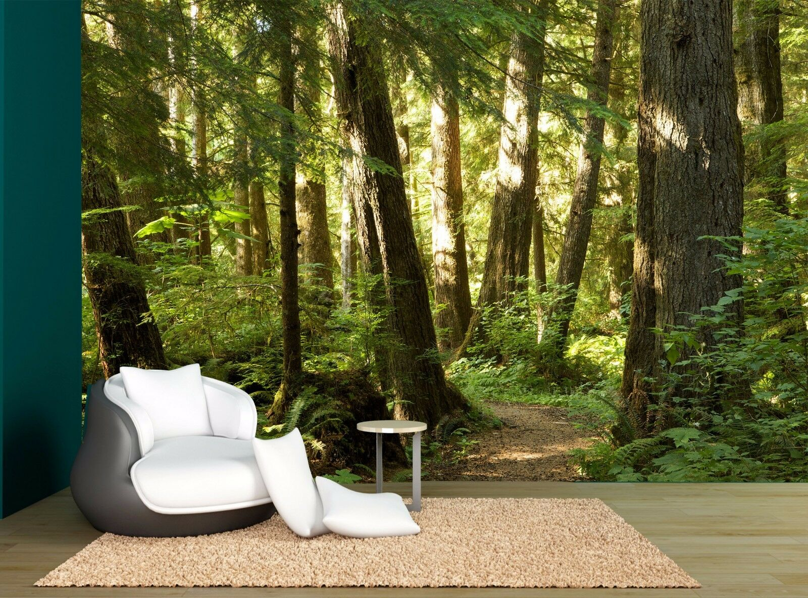 Forest Trees Plants Nature Forests Wall Mural Photo Wallpaper GIANT WALL DECOR